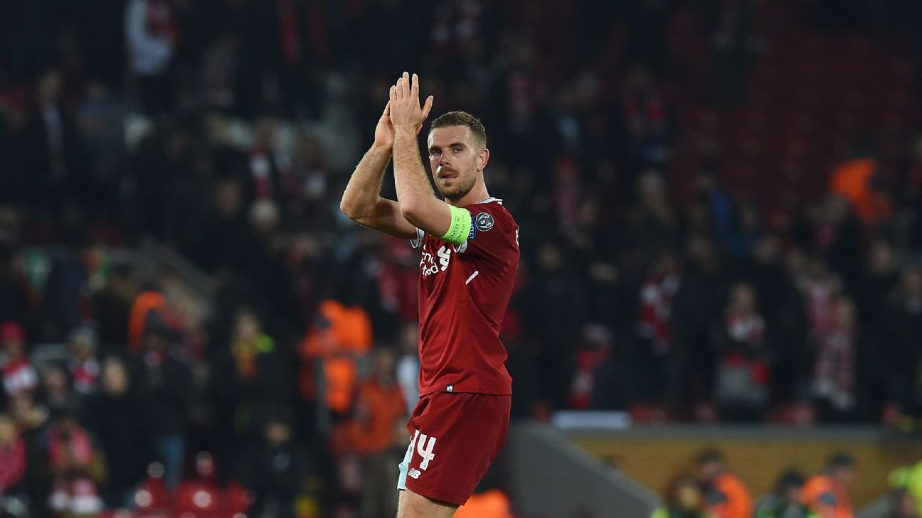 Jordan Henderson was immense in midfield in a 0-0 draw with Porto.