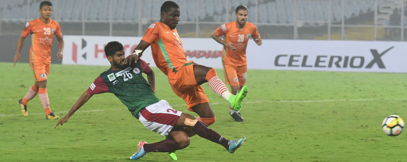 NEROCA and Mohun Bagan are the other teams who could yet win the I-League.
