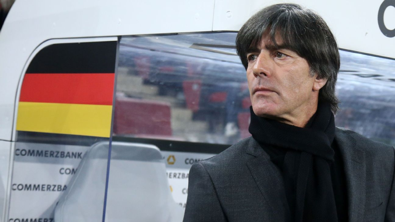 Germany coach Joachim Low is aiming to become only the second coach to ever retain the World Cup