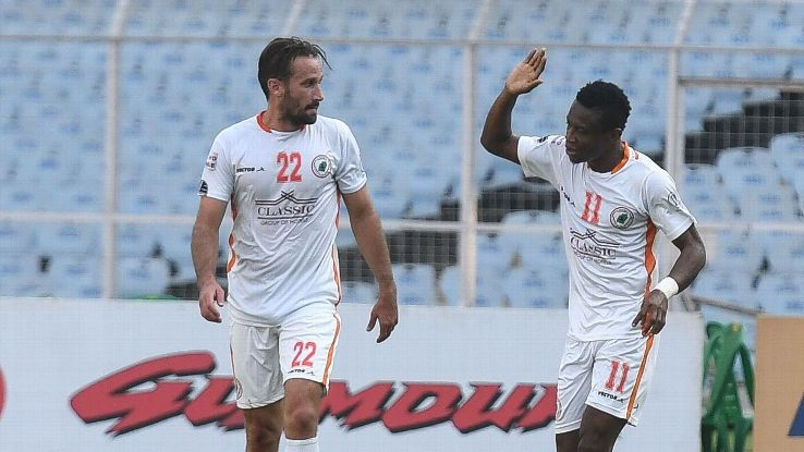 Felix Chidi put NEROCA in front vs East Bengal.