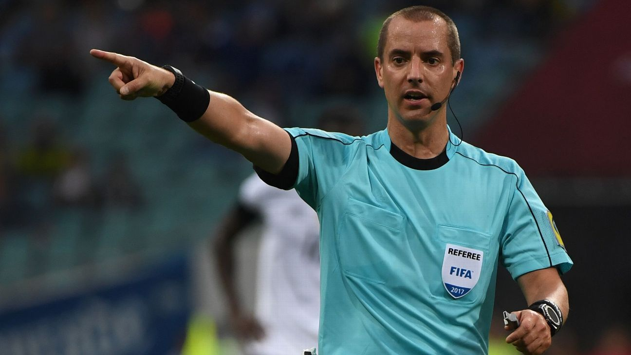 American Mark Geiger to referee England-Colombia round-of-16 clash