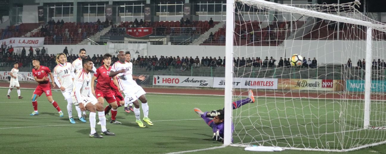 The title seemed within East Bengal's grasp in their penultimate match but they couldn't hold on to their early lead against Lajong in Shillong.