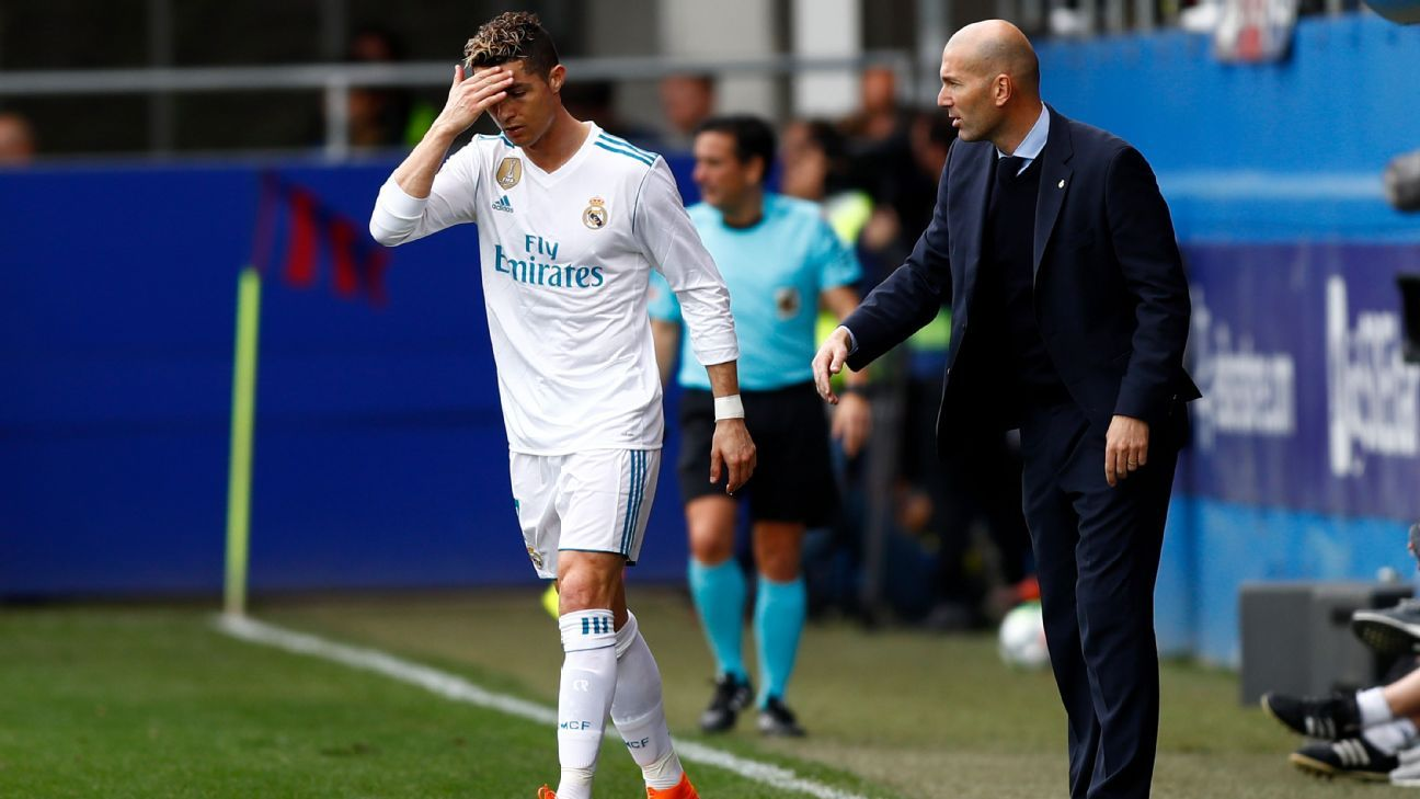 Cristiano Ronaldo and Zinedine Zidane have Real Madrid rolling again.