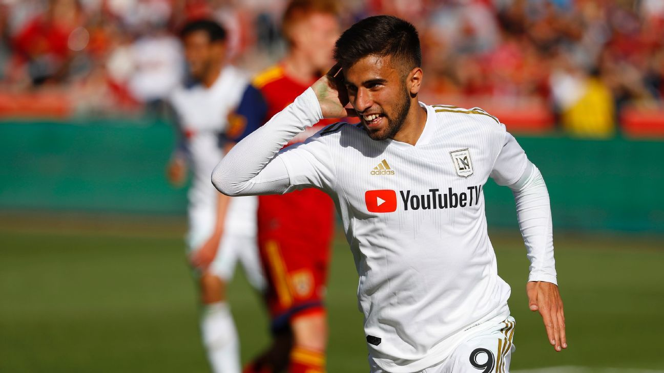 Diego Rossi nets brace as LAFC rout Real Salt Lake