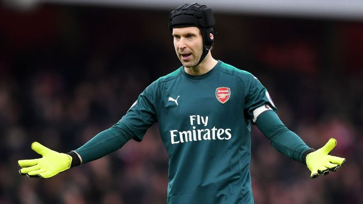 Petr Cech has seen his form dip a bit this season at Arsenal.