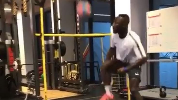 Naby Keita shows off skills