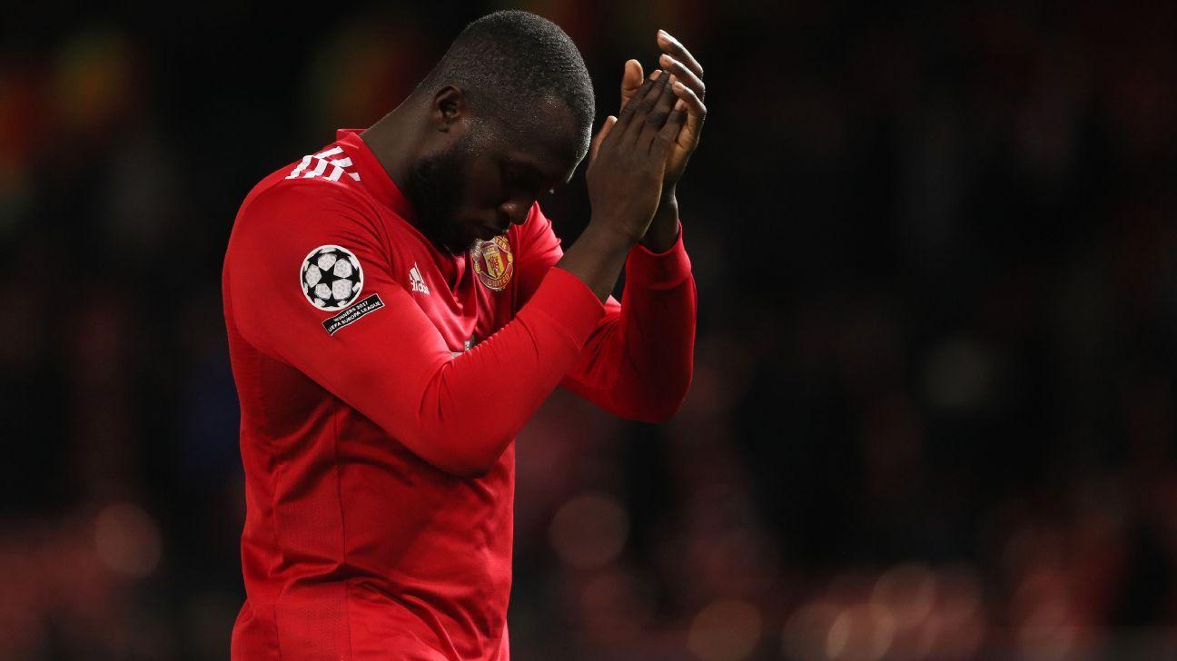 Romelu Lukaku following Manchester United's Champions League defeat to Sevilla.