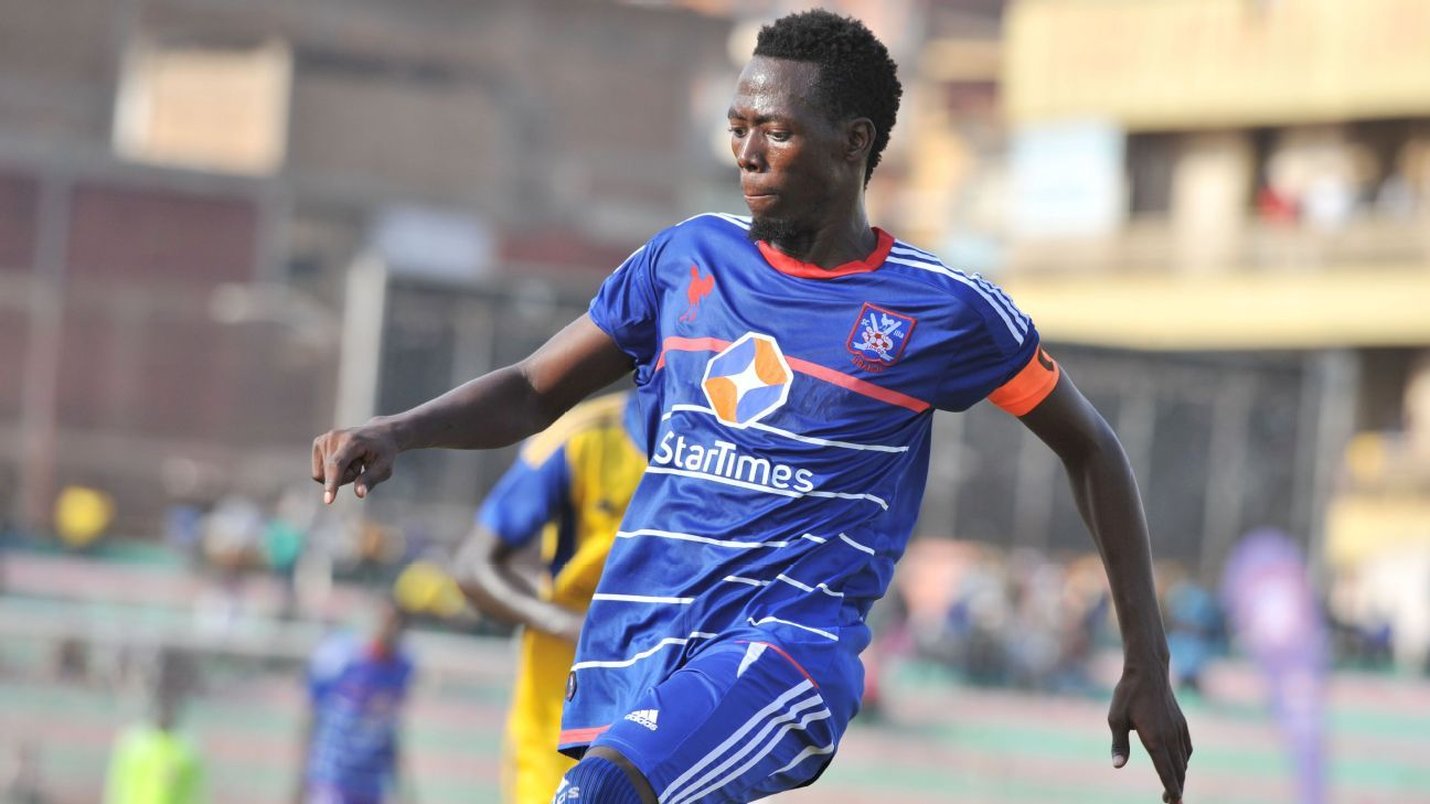 Denis Kamanzi of SC Villa
