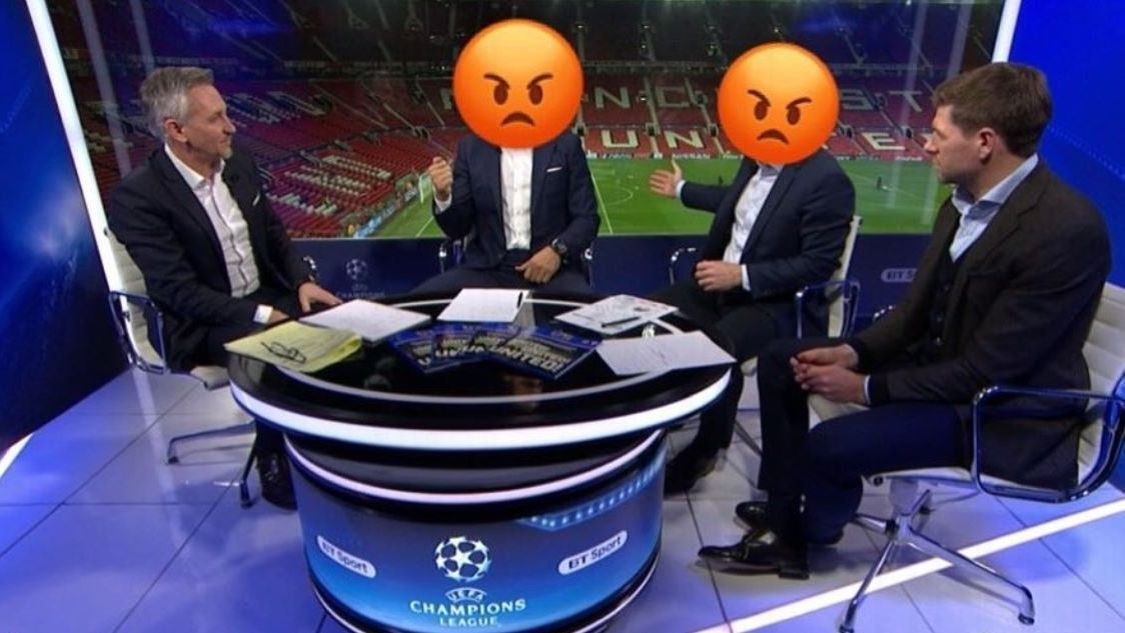 Rio Ferdinand uses angry emojis in Instagram post after Manchester United's Champions League exit
