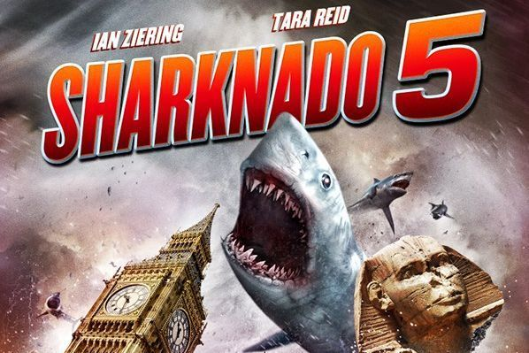 Sharknado 5 poster