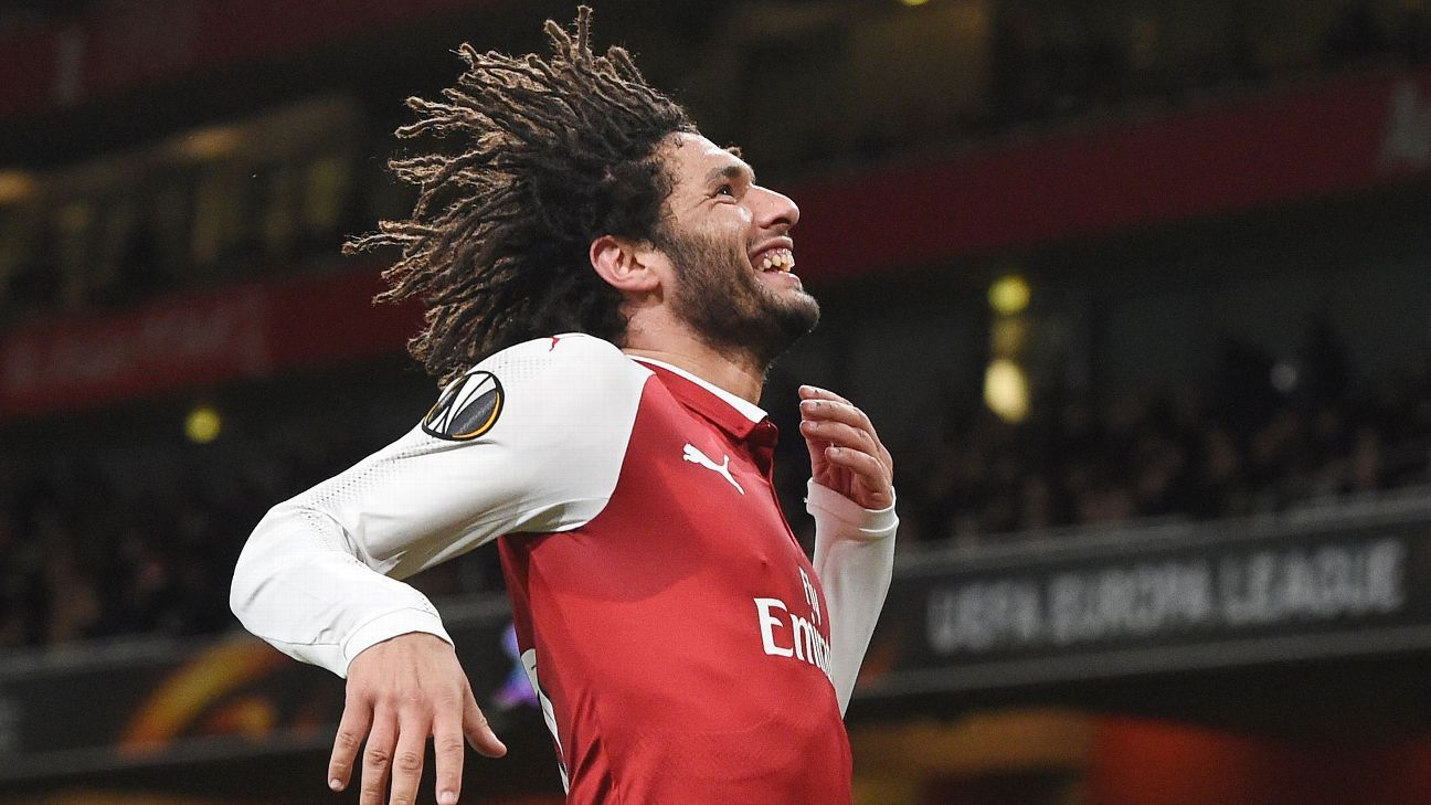 Arsenal's Mohamed Elneny