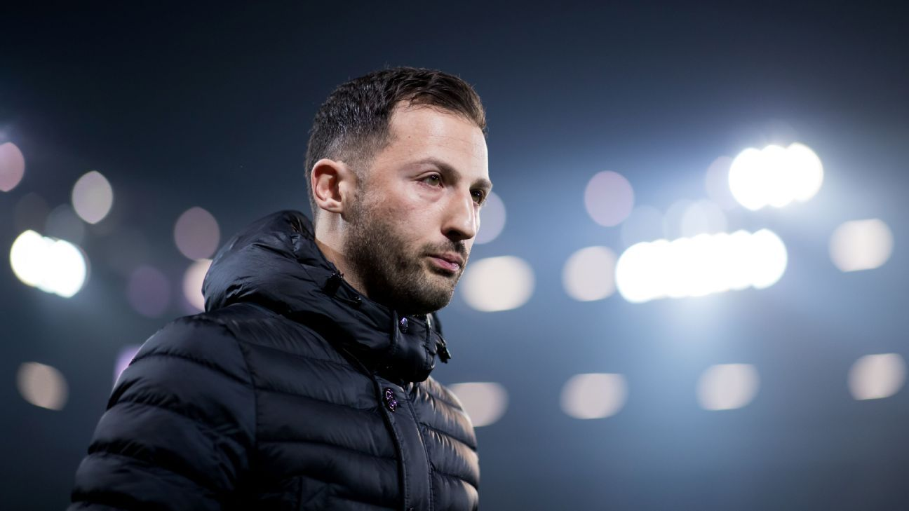 Schalke 04 coach Domenico Tedesco is only 33 and has thrived in just his second year of senior management and first in the Bundesliga.
