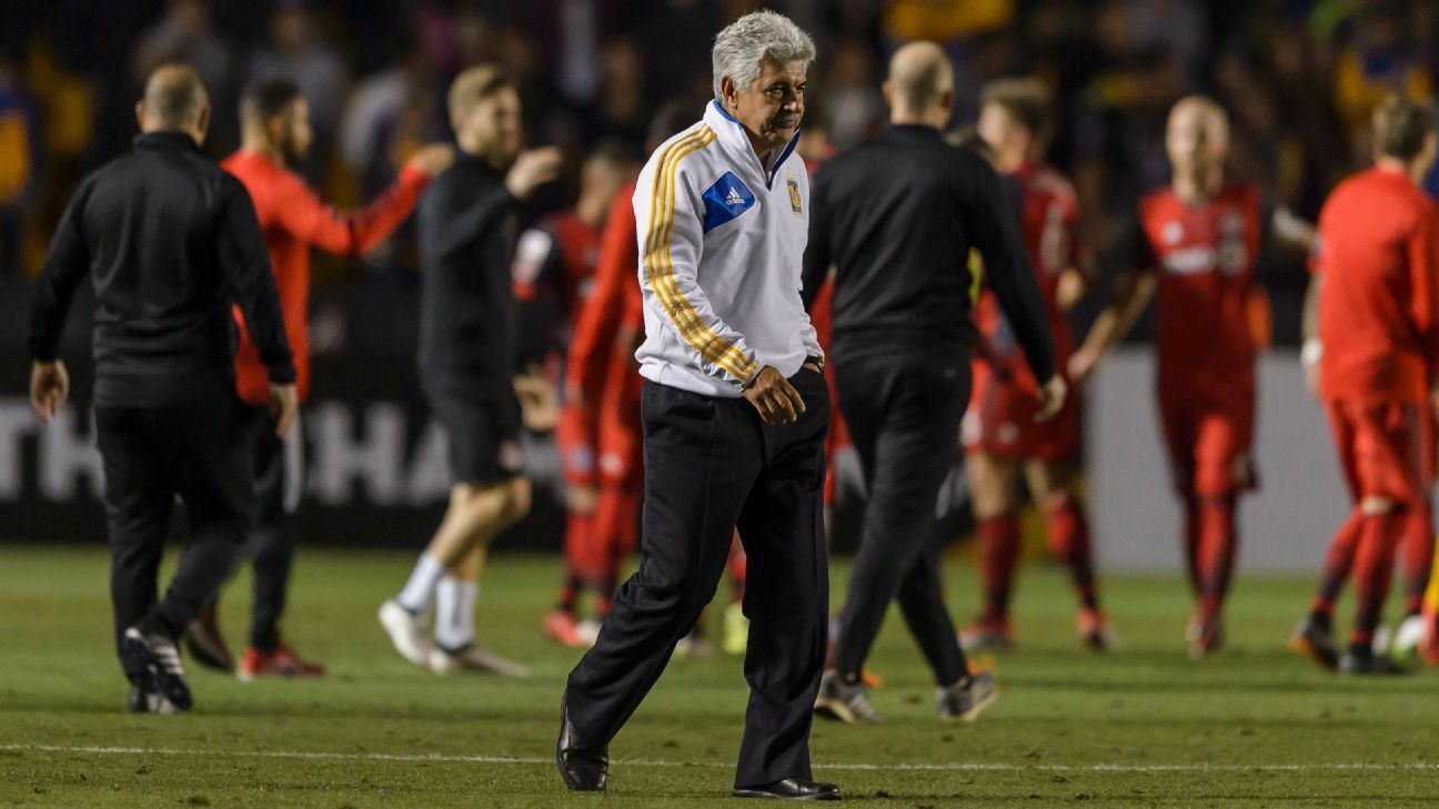 Tigres coach Tuca Ferretti previously served as Mexico interim coach for four games in 2015.