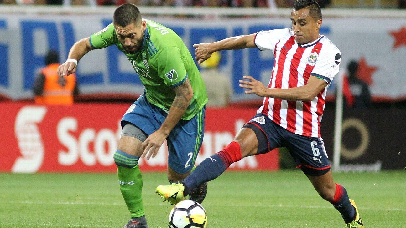 Dempsey action vs Chivas 180314