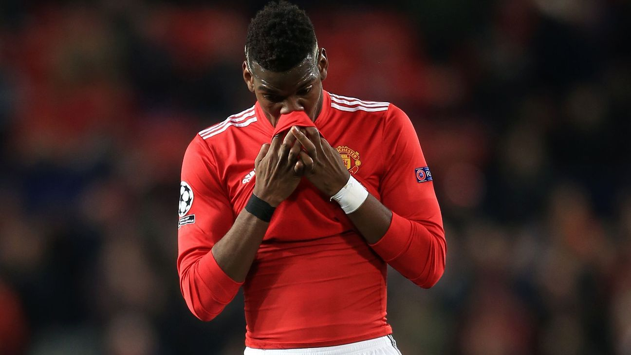 Paul Pogba 'cannot be happy' with his situation at Manchester United - Didier Deschamps