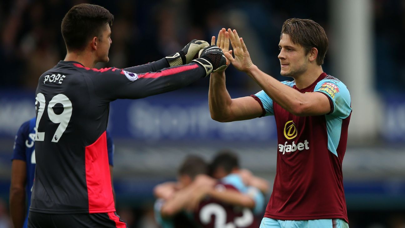 Nick Pope and James Tarkowski have been rewarded for their fine form at Burnley by being given England call-ups.