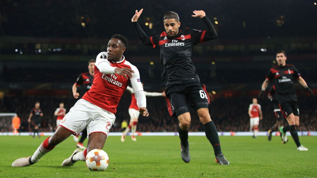 No UEFA Action For Arsenal's Danny Welbeck After AC Milan