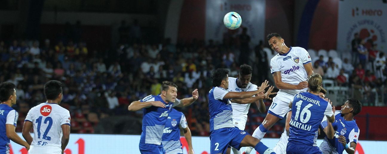 Chennaiyin beat Bengaluru 3-2 in the 2017-18 ISL final.
