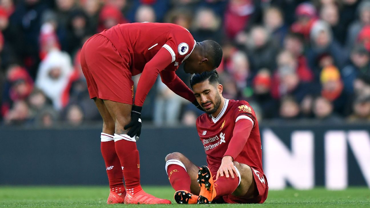 Injured Emre Can won't play for Germany against Spain - Joachim Low