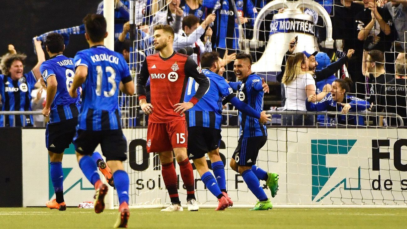 Montreal Impact hand Toronto FC second-straight MLS defeat