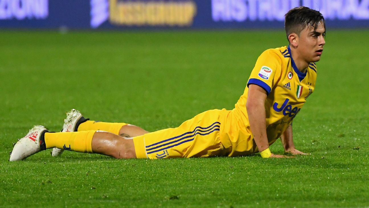 Frustration got the best of Paulo Dybala in a disappointing loss to minnows SPAL.