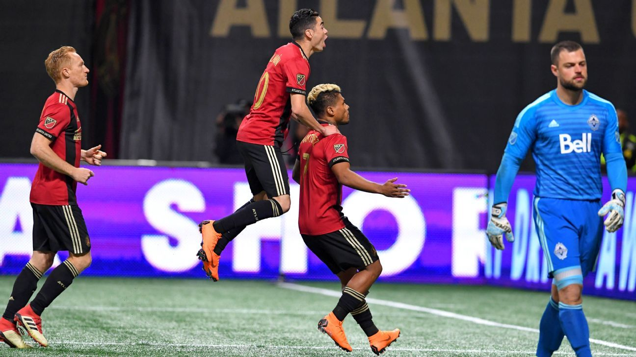 Atlanta hops over Crew for No. 2 spot in MLS Power Rankings; NYCFC top