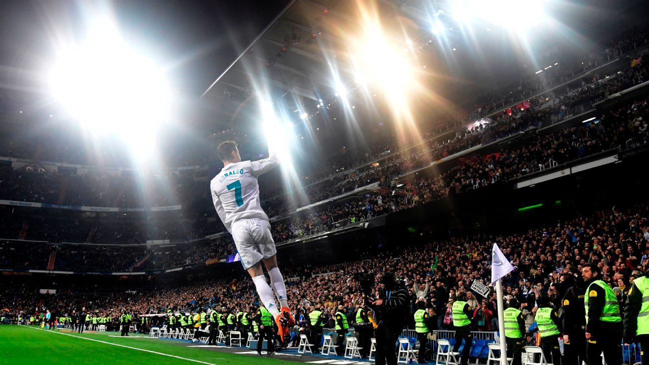 Poet Natalie Diaz offers a tribute to Cristiano Ronaldo through the lens of the four-time Champions League winner, who's also the all-time leader in Champions League goals.