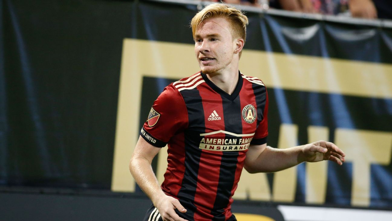 Andrew Carleton has gotten minutes for Atlanta United before turning 18.