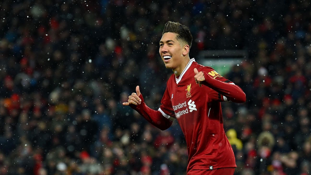Roberto Firmino has excelled for Liverpool under Jurgen Klopp.