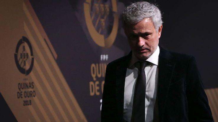 Jose Mourinho at 'Quinas de Ouro' ceremony in Lisbon
