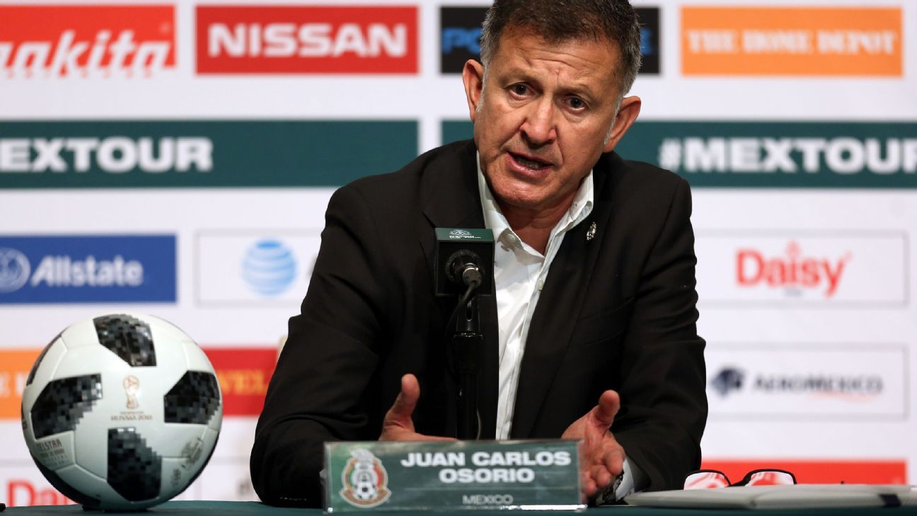 Juan Carlos Osorio and Mexico face a daunting group of Germany, Sweden and South Korea.