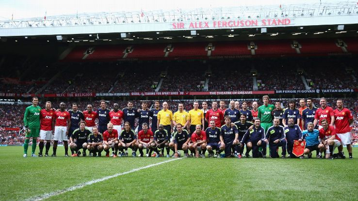 Man United vs. Real Madrid legends 2013