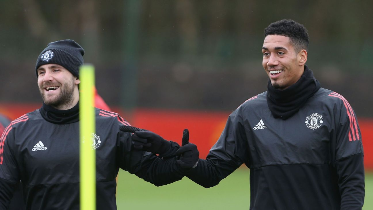 Luke Shaw & Chris Smalling