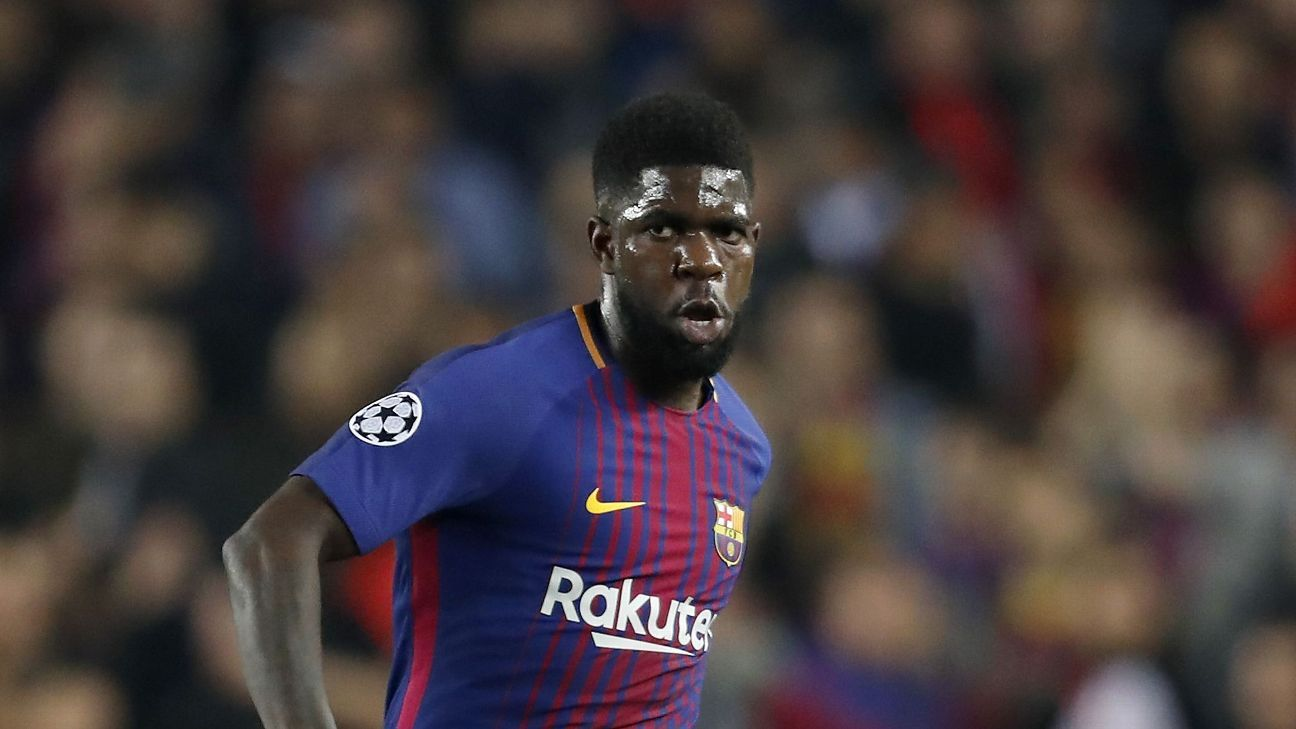 Samuel Umtiti has become one of the best defenders in the world at Barcelona.