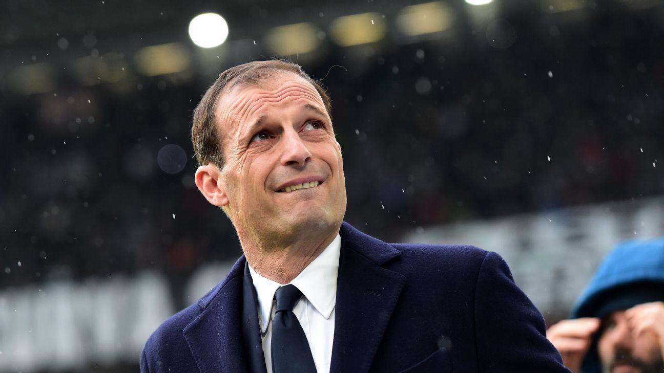 PSG targeting Juventus' Massimiliano Allegri to replace Unai Emery - source