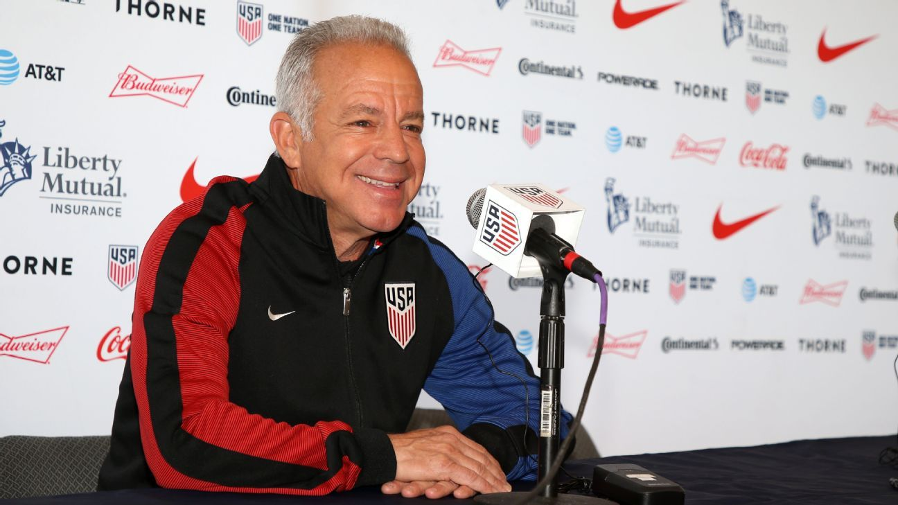 3f7edef58 U.S. Soccer extends contract of national team interim coach Dave Sarachan