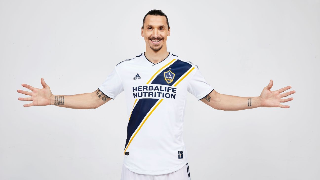 Zlatan Ibrahimovic Galaxy introduction