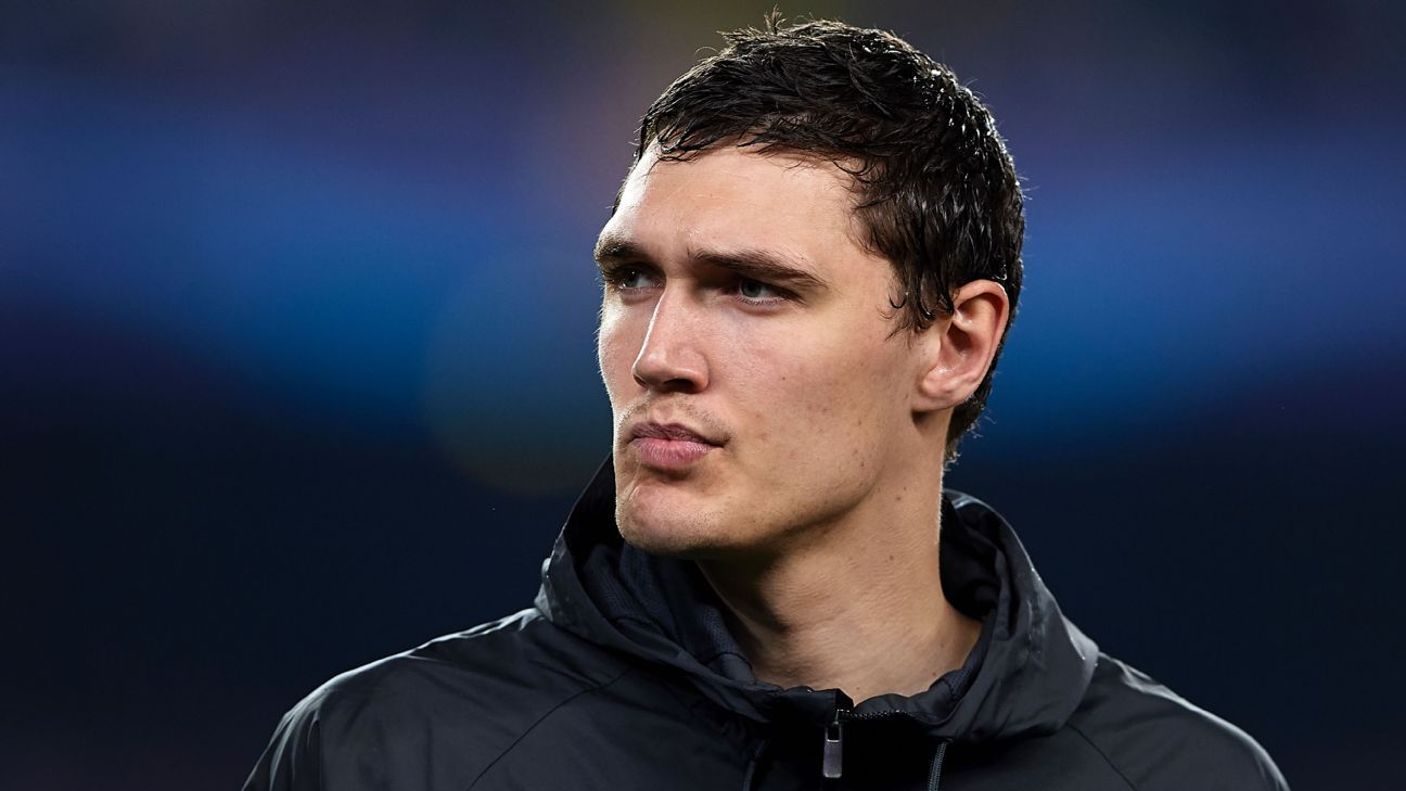 Andreas Christensen has featured regularly for Chelsea this season.