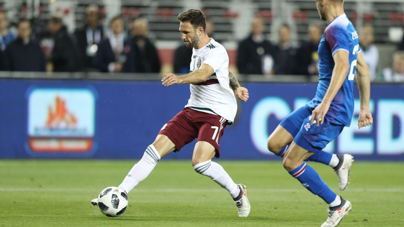 Layun goal vs Iceland 180323