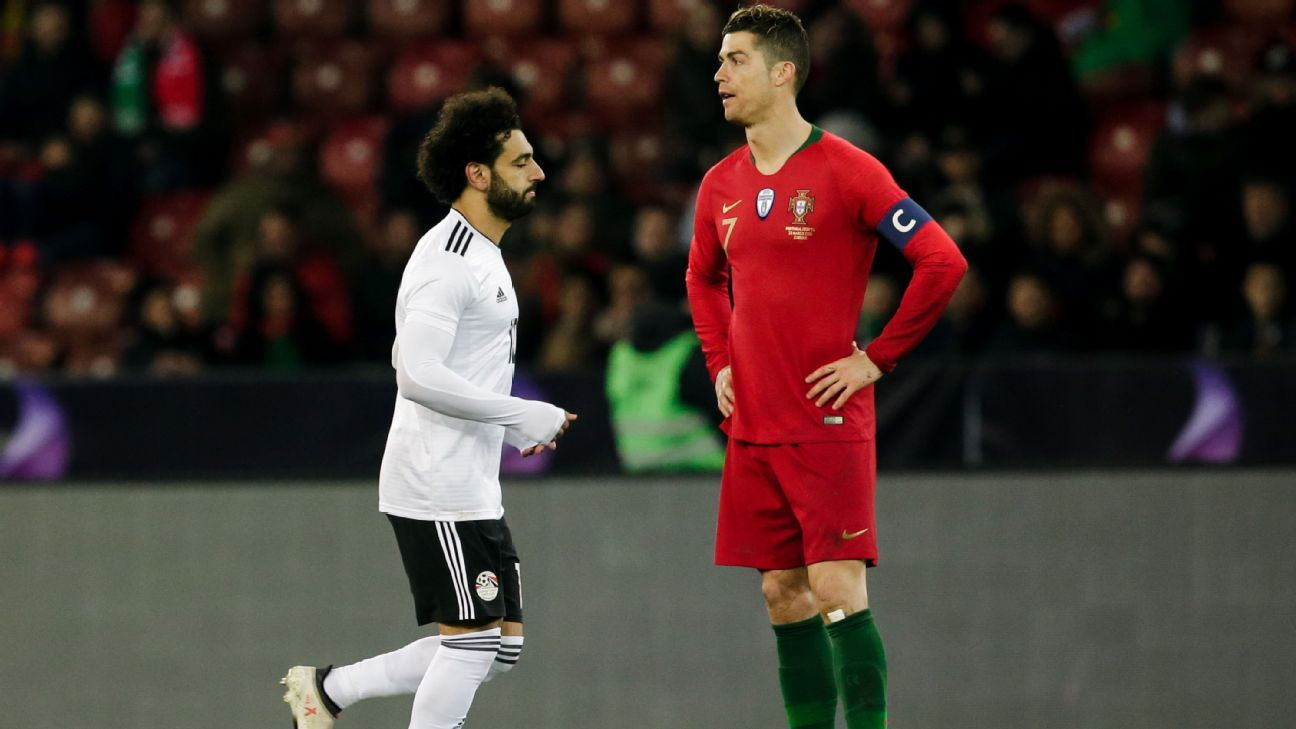 Mohamed Salah scored first, but Cristiano Ronaldo proved that he will fight to keep his supremacy until the end.