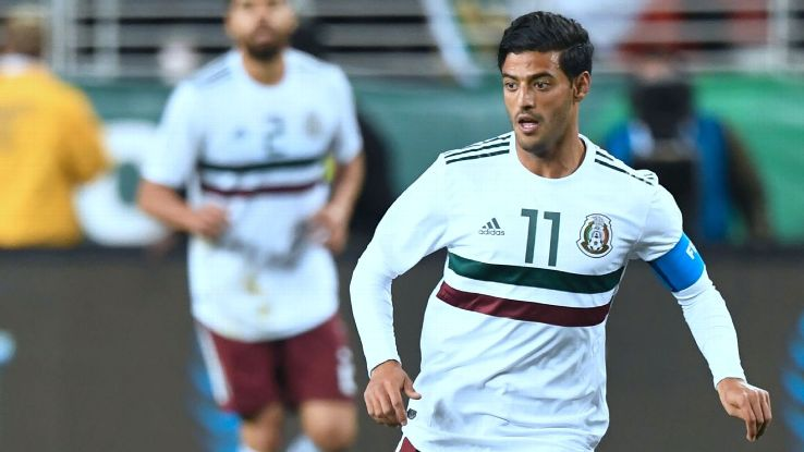 Carlos Vela's good form with LAFC should give a boost to Mexico at the World Cup.