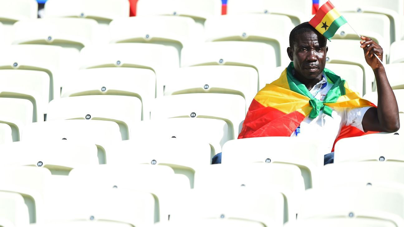 It's been a tough few months for Ghana football ...