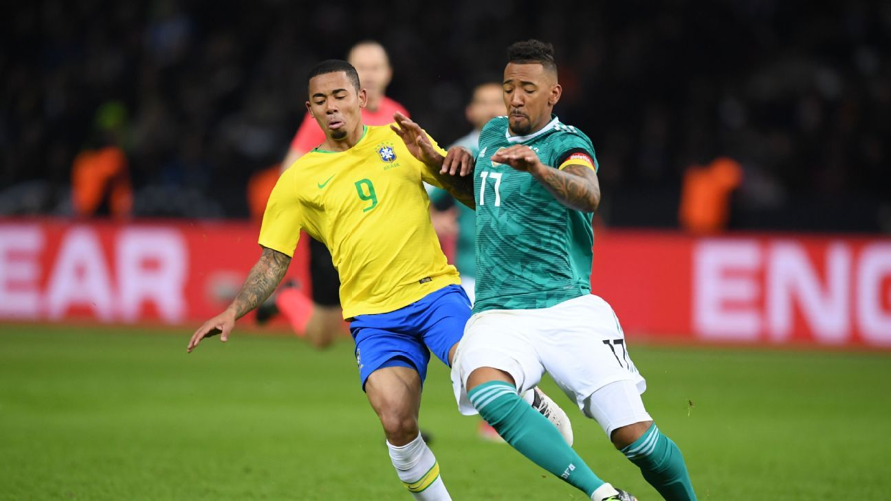 Jerome Boateng wore the arm band proudly against Brazil in his home city of Berlin.