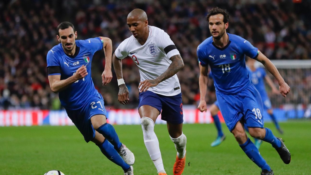 Ashley Young was one player who helped his World Cup case vs. Italy.