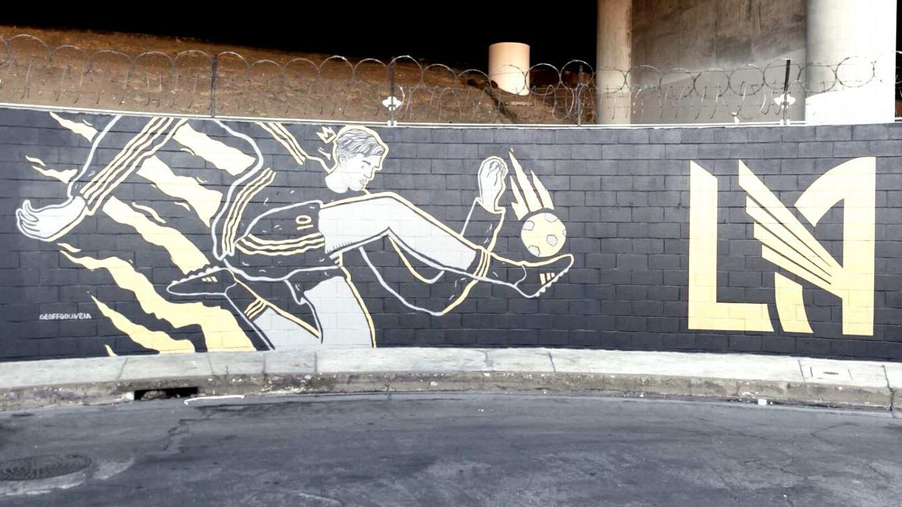 LAFC mural