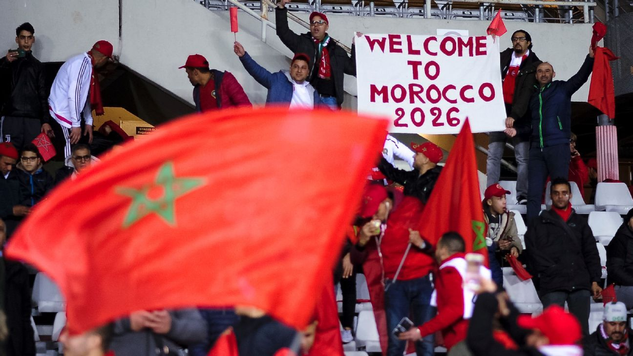 Morocco fans have something to celebrate as their country's bid was selected to host the 2026 World Cup.