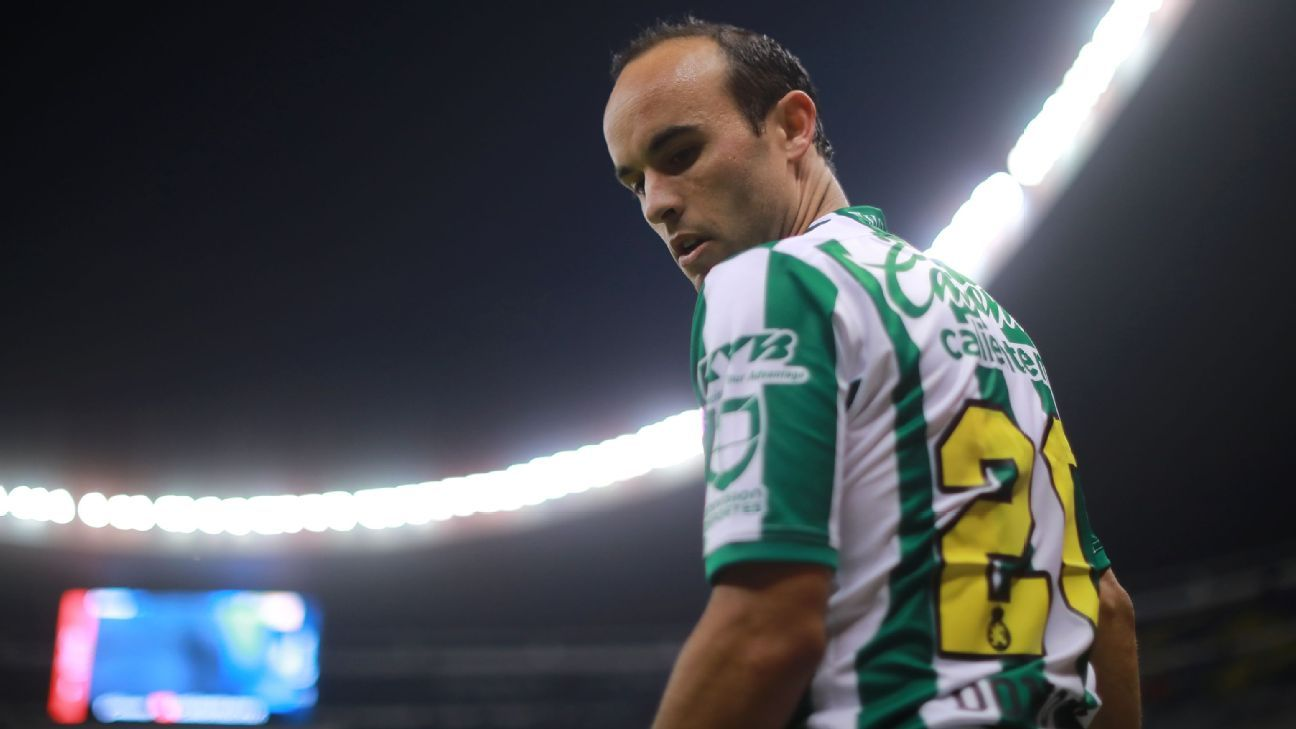 Landon Donovan, playing in Liga MX with Leon, will root for Mexico at this World Cup.