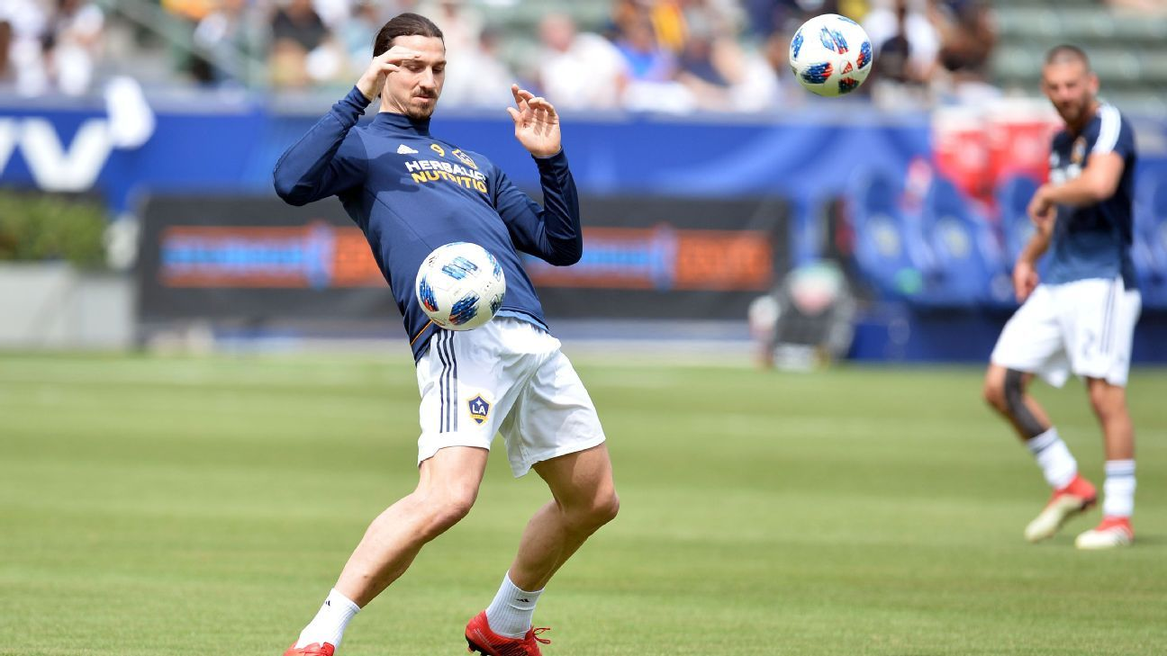 Zlatan Ibrahimovic makes LA Galaxy debut in inaugural derby against LAFC