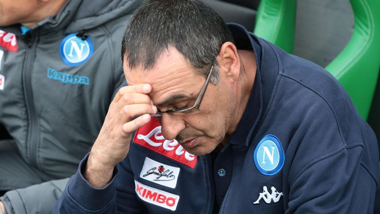 Maurizio Sarri transformed Napoli into one of Europe's best and most attractive sides.