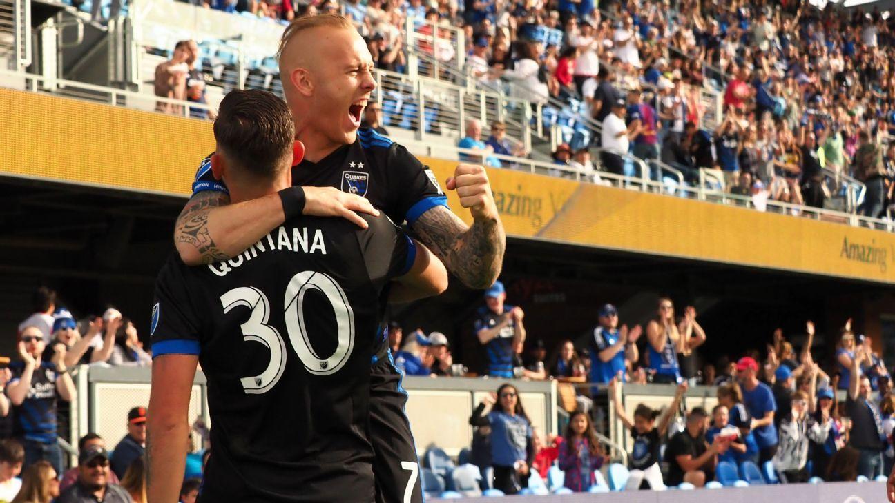 New York City FC pull off second-half rally to beat San Jose